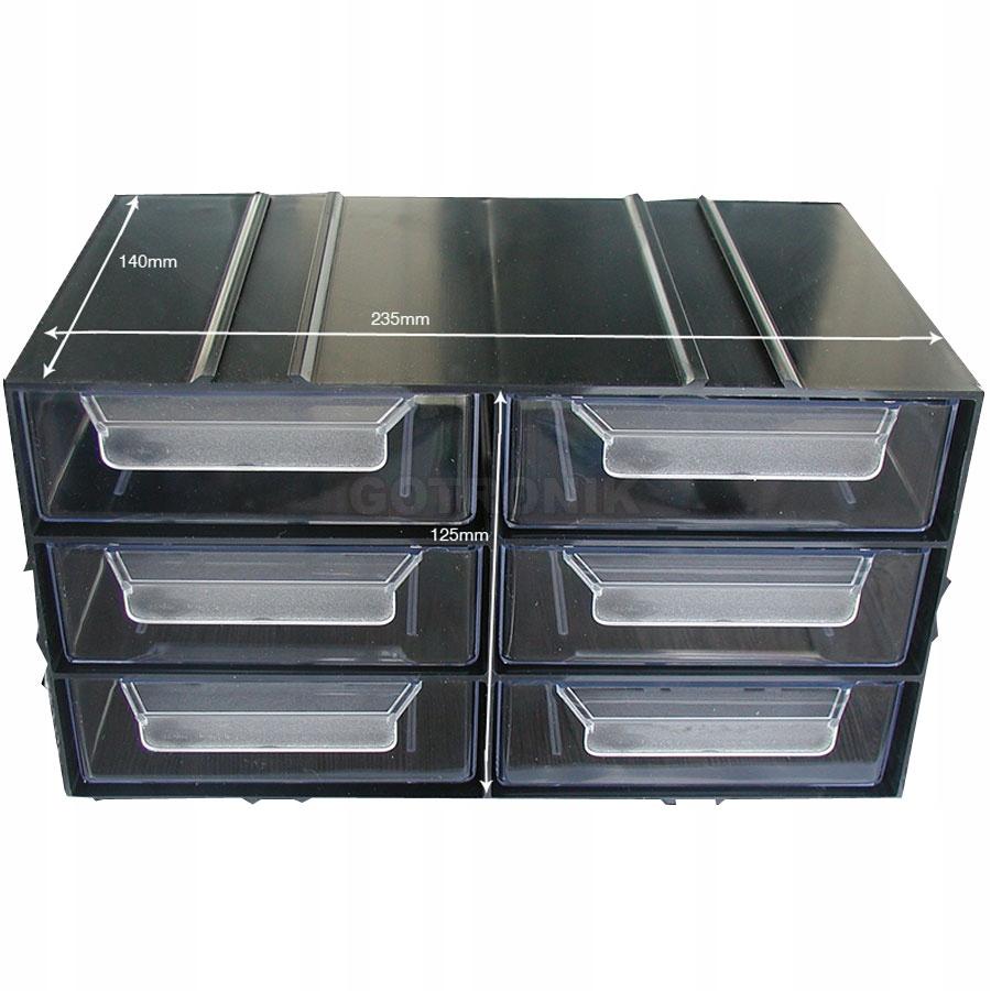 Plastová skrinka PX6 - 6 zásuviek