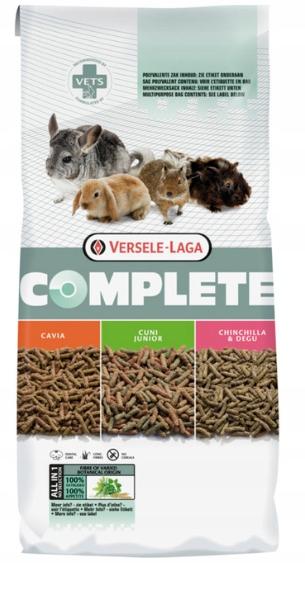 VERSELE-LAGA CAVIA COMPLETE Granulat 8kg + GRATIS