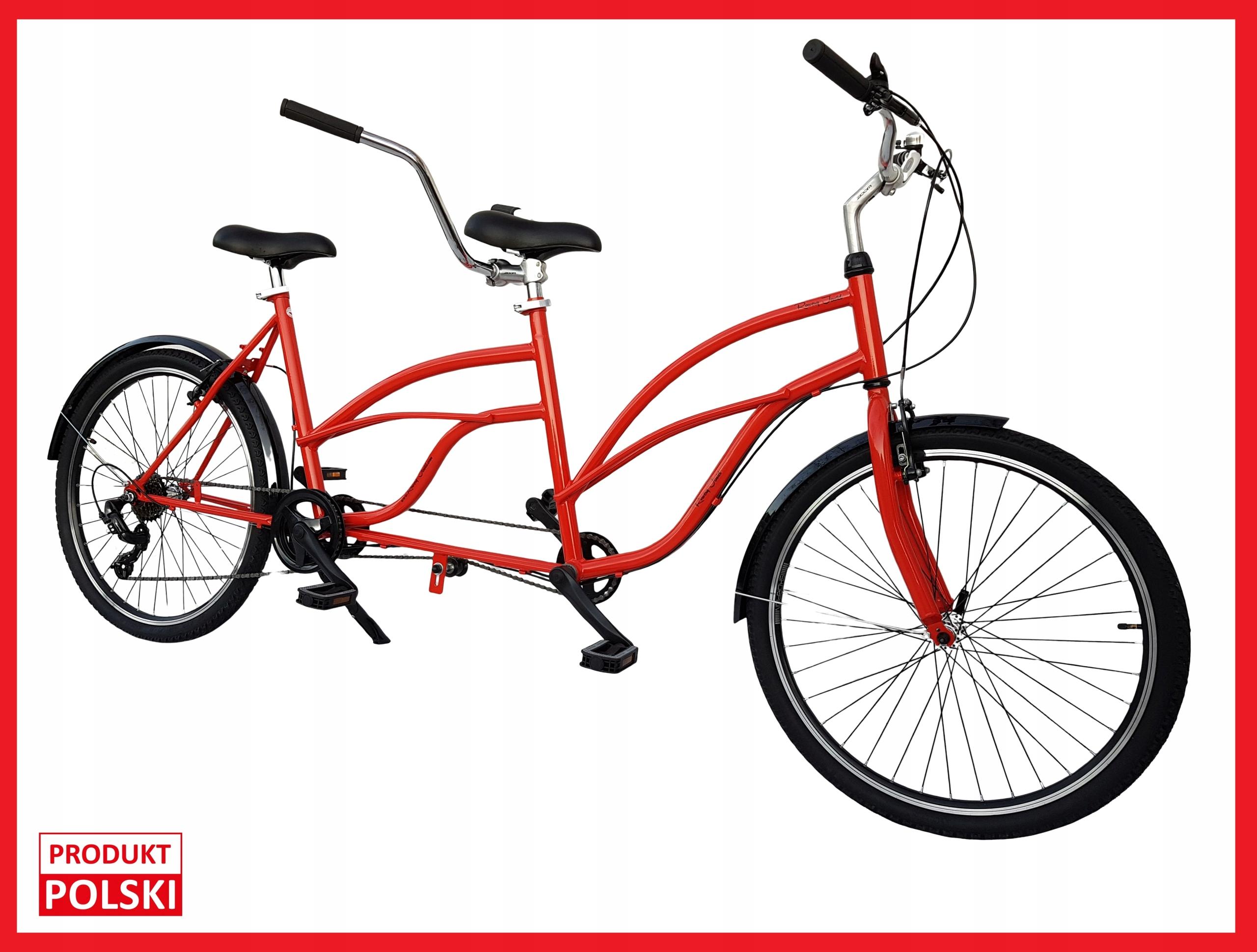 Tandem Bicyklov 26' VÝROBKU POĽSKO - nový VÝROBCA