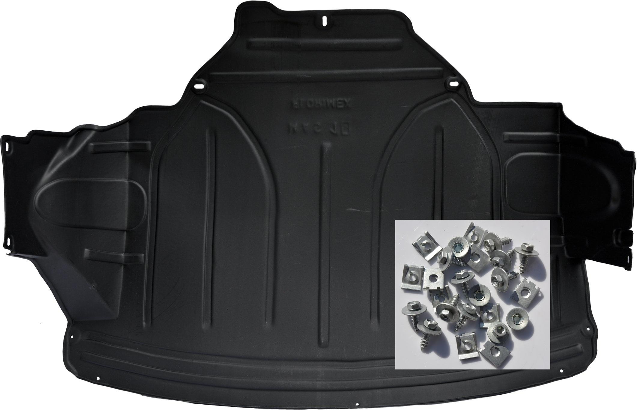 renault master iii 2010- крышка двигателя запонки