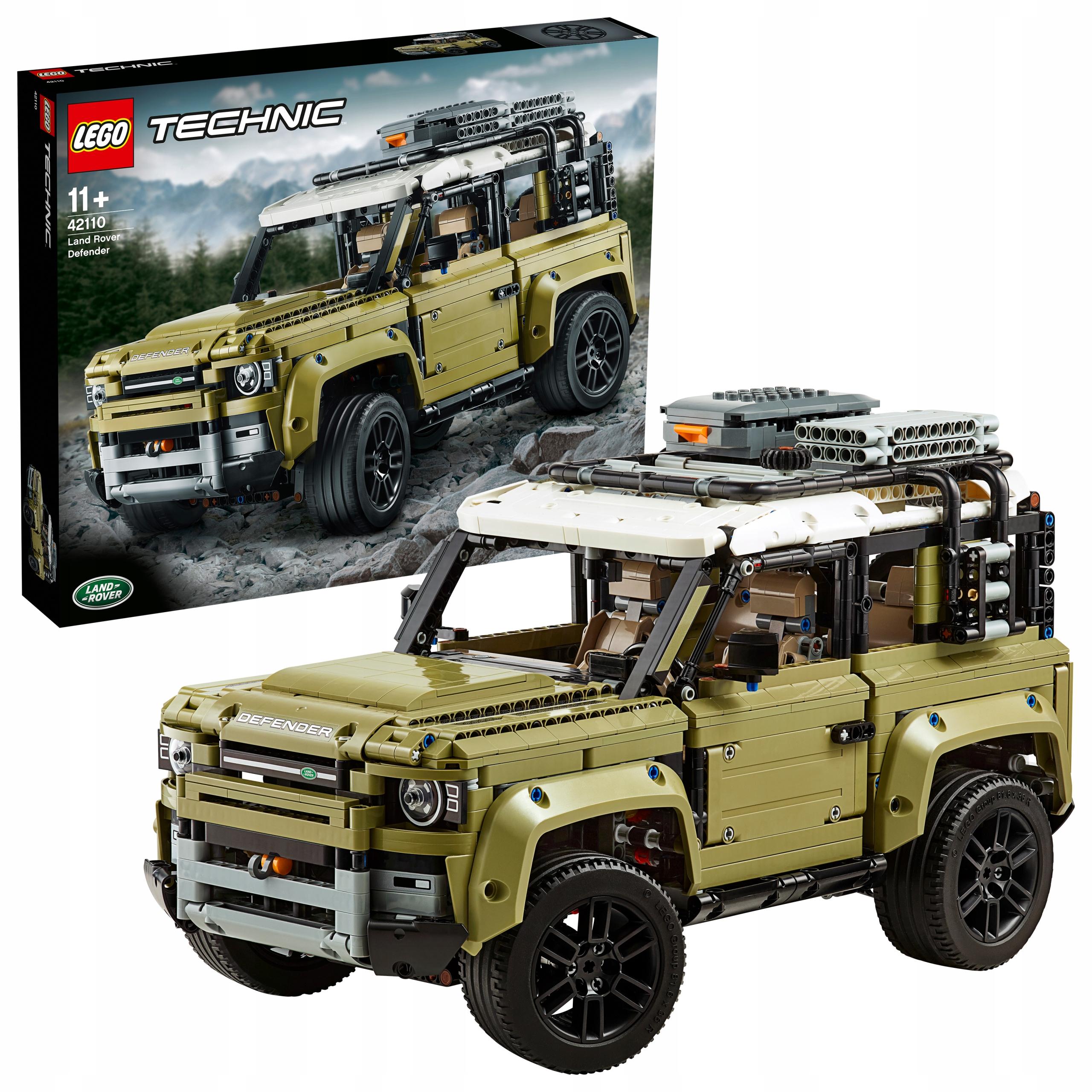 Klocki Lego Technic Land Rover Defender 42110