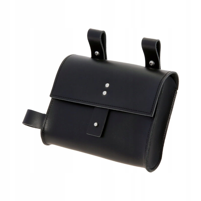 Taška na sedlovú tašku na bicykel čierna