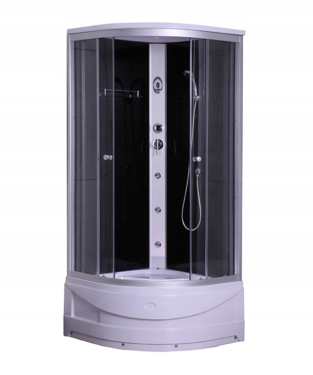 Sprchovací kút S HYDROMASÁŽOU 80x80x225