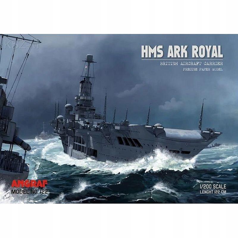 Angraf 122 - Авианосец HMS Ark Royal 1 :200