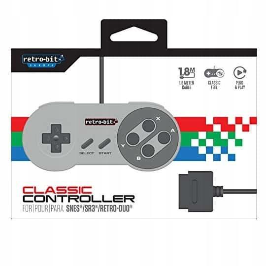 Retro-bitové SNES Classic Controller Gamepad FV23 24 HODÍN