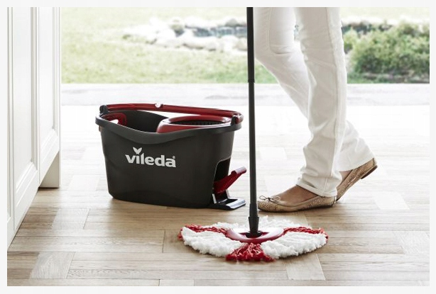 Vileda easy wring turbo mop and bucket bathroom mirror makeover