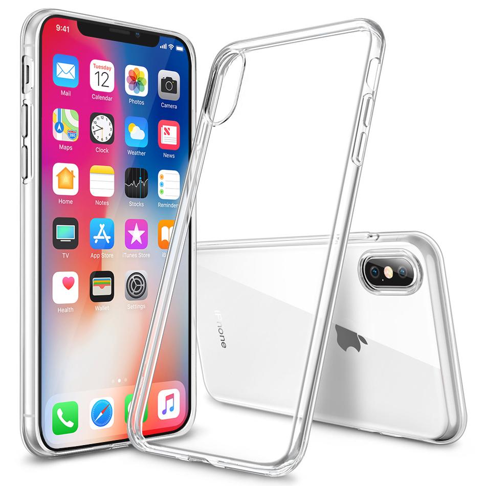 Etui Silikonowe / Apple iPhone X