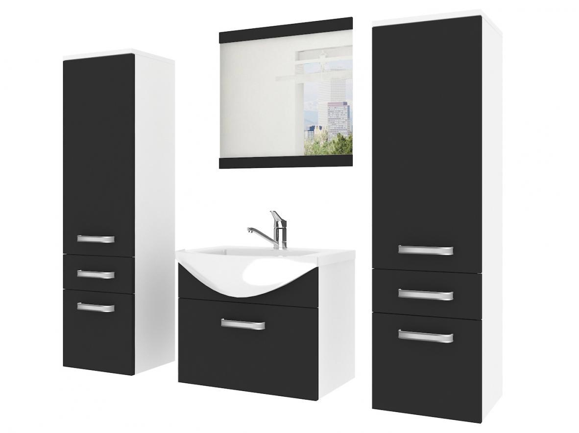 Мебель для ванной комнаты с зеркалом С раковиной