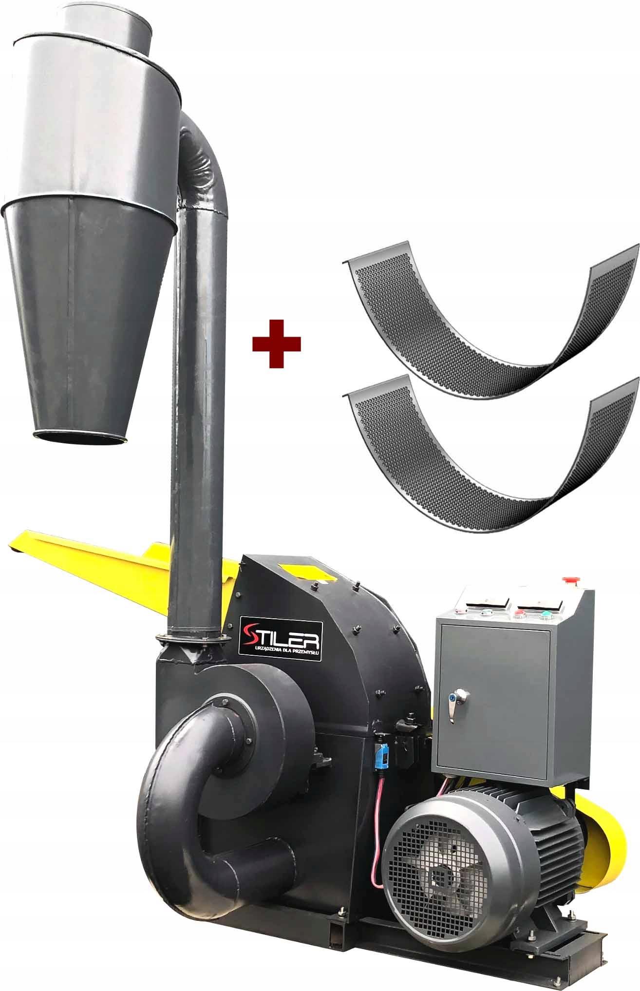 Shredder Kotol Mill 11KW + CYCLONE STILER PL