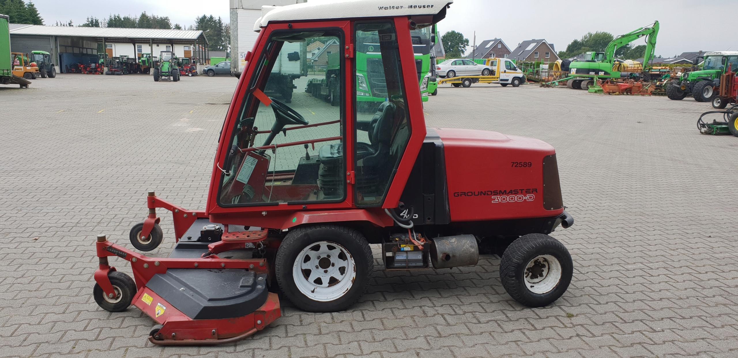 Купить TORO Газонокосилка GRUNDSMASTER 3000 D 4WD ДИЗЕЛЬ на Otpravka - цены и фото - доставка из Польши и стран Европы в Украину.