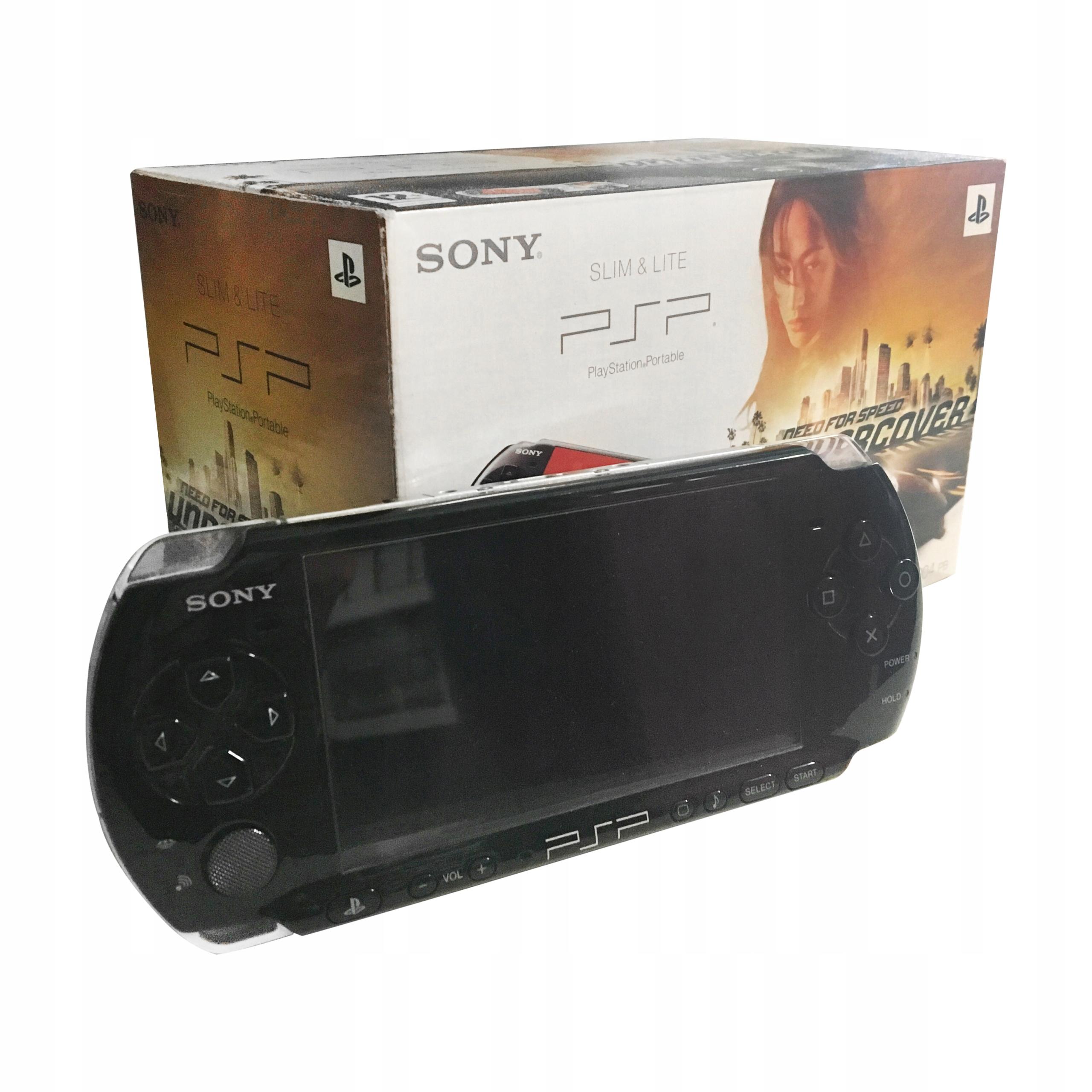 Item SONY PSP 3004 SLIM WiFi EN MENU Cover SET of GAMES