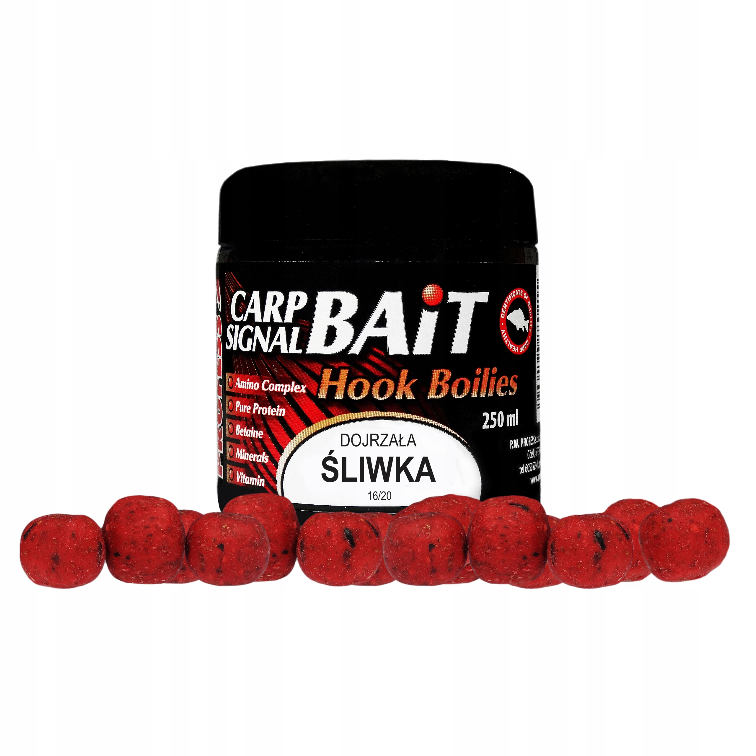 Profes - Protein Balls Zrelé slivky - 250ml
