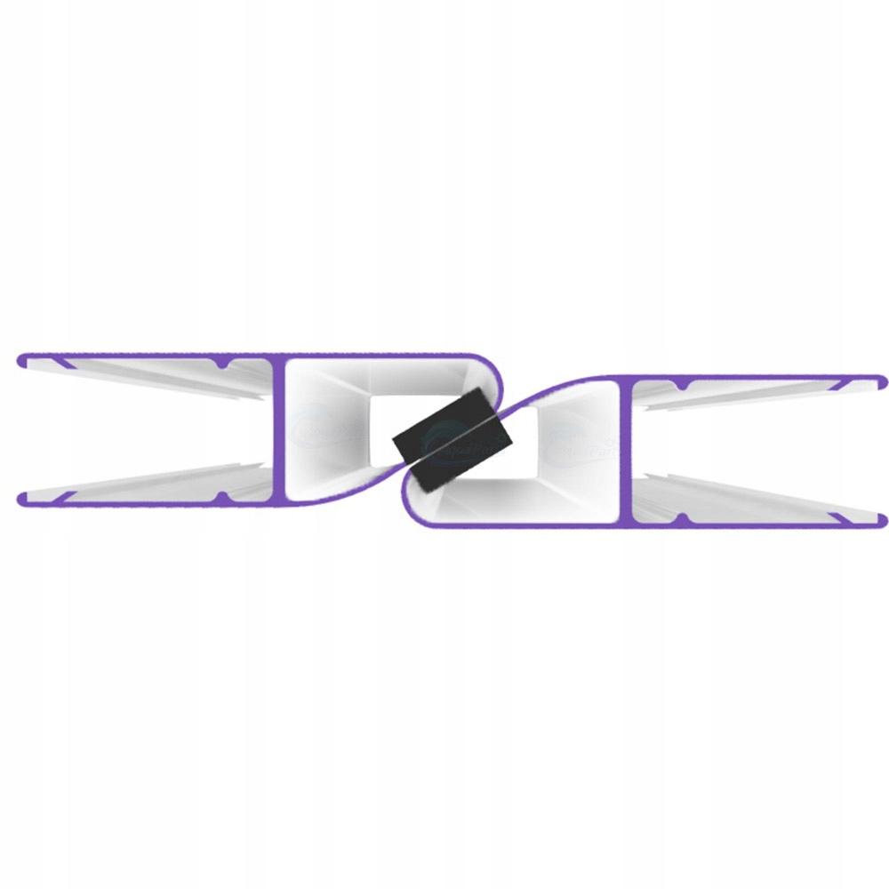 2 ks Magnetické tesnenie pre kabínu 185cm 4mm