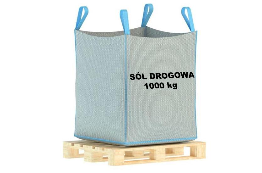 Posypová soľ 1000 kg (Veľká Taška na paneli s toleranciou