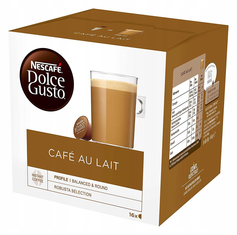 Kapsułki Nescafe Dolce Gusto Cafe Au Lait 16 szt