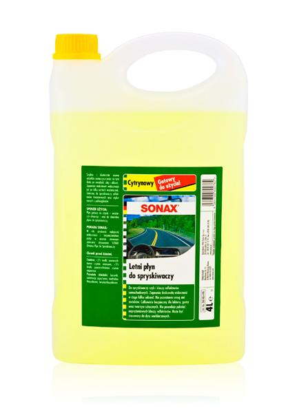 SONAX Letni płyn do spryskiwaczy 4L.