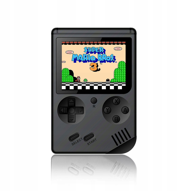 Item Mini portable Retro console with 168 games - Black