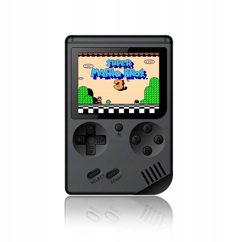 Mini prenosné Retro konzoly s 168 hry - Black