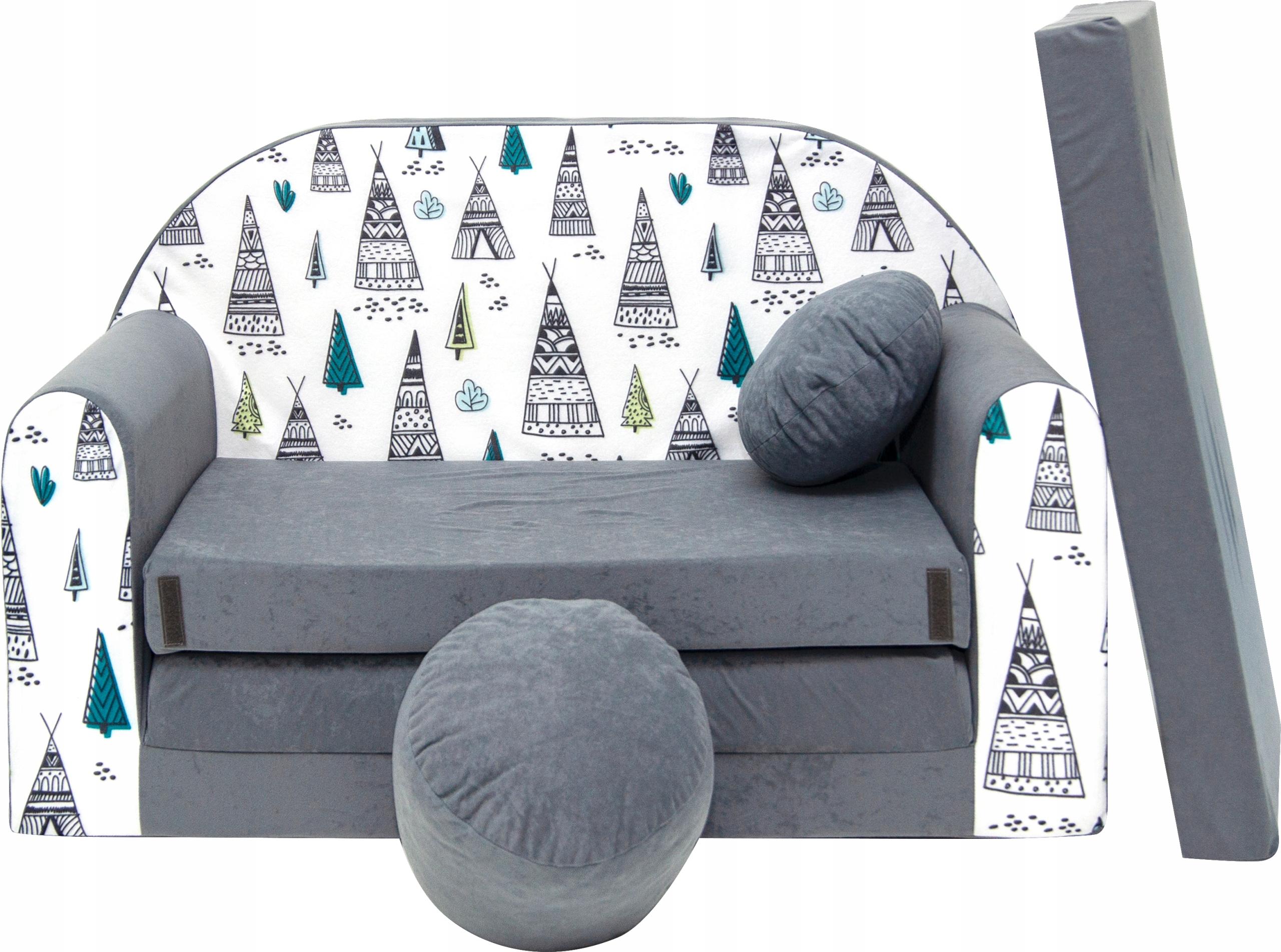 SOFA SOFA BED для детей, кровать, подушка