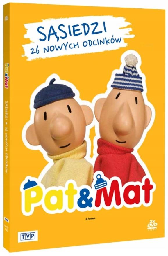 Item NEIGHBORS PAT & MAT [ 2 DVD]