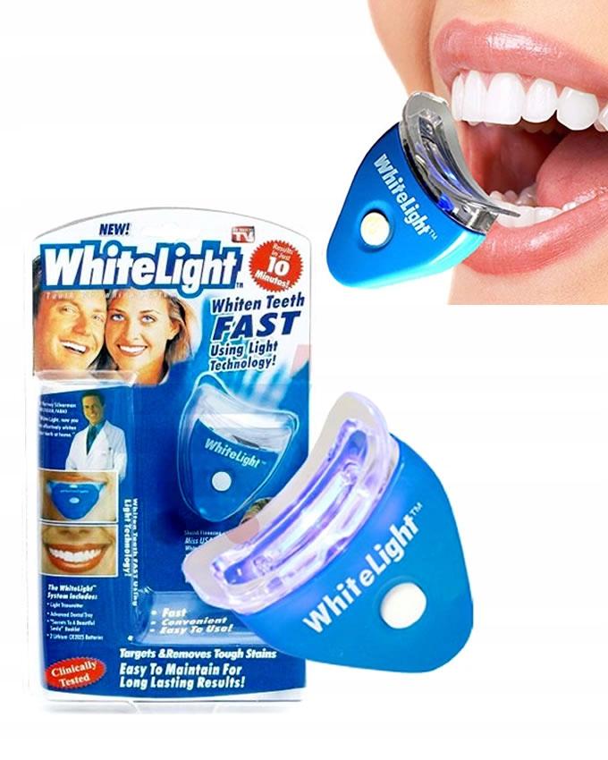 AKTYWNY WYBIELACZ do zębów Urządzenie WHITE LIGHT