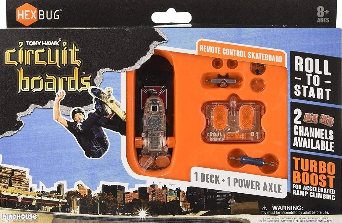 Fingerboard Skateboard Hexbug Tony Hawk na batériách