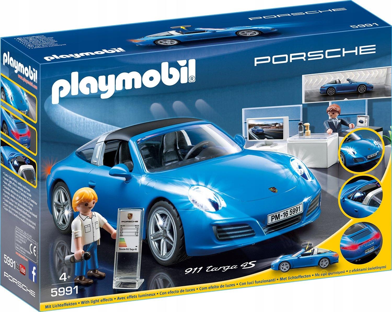 Nová sada Playmobil 5991 - Porsche 911 Targa 4S!