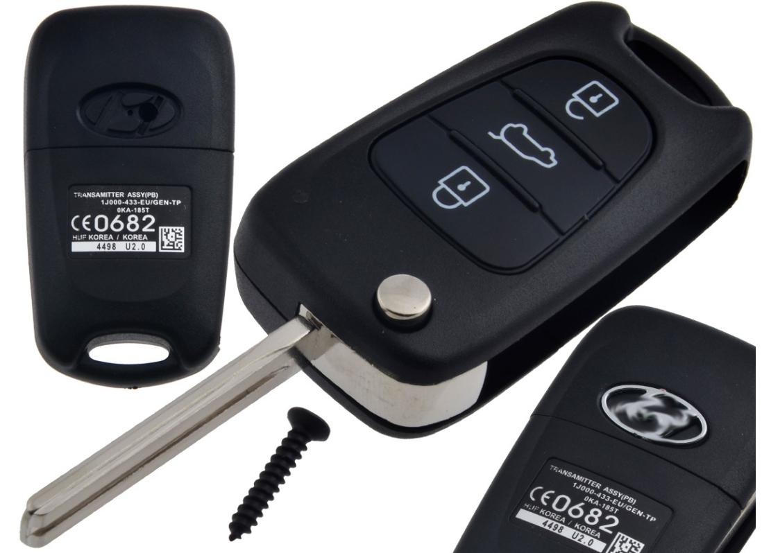 hyundai i10 i20 i30 ix35 ключ пульт корпус