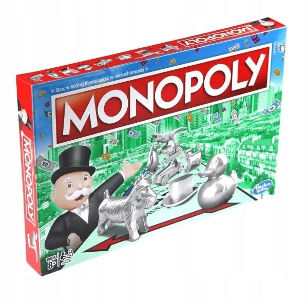 Item THE ORIGINAL MONOPOLY GAME CLASSIC HASBRO NEW POLAND