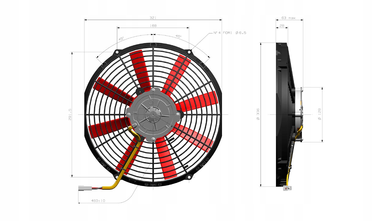 вентилятор 305mm 24v 90050479  va10-bp50c-61s