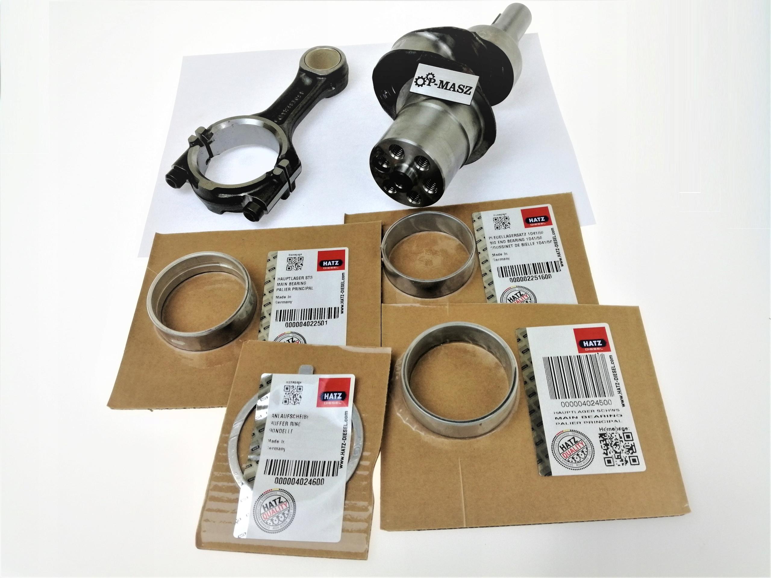 Ремонтный комплект вала Hatz 1D50 01921400