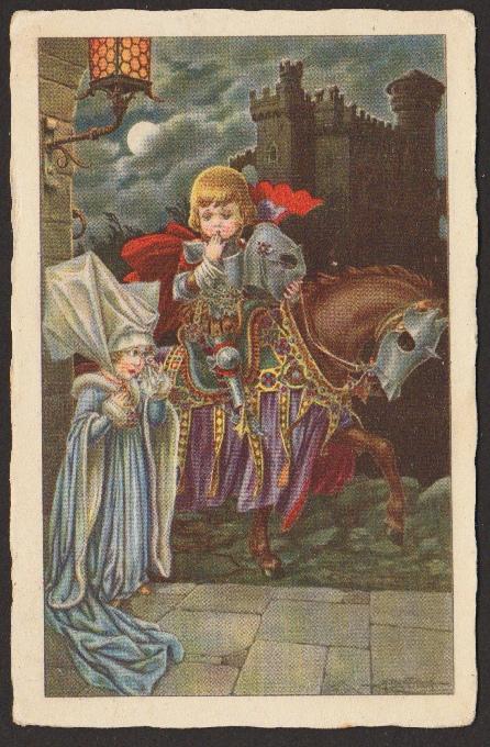 Knight a princezná [deti]. 1930 (Dátum obehu)