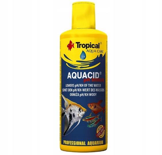 TROPICAL AQUACID pH MINUS 500ml obniża pH KH wody