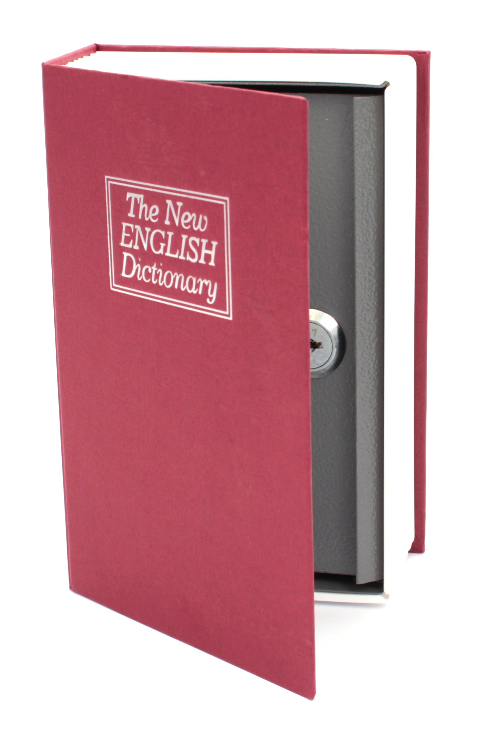 Item CONTAINER METAL BOOK SAFE MONEY DICTIONARY