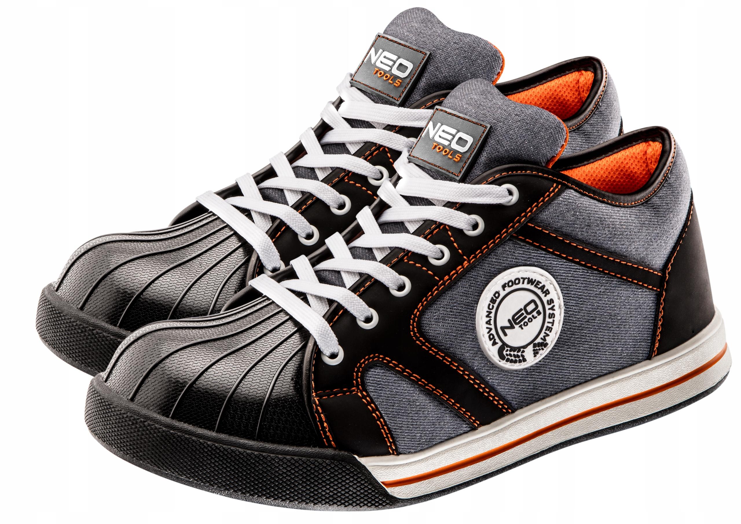 NEO Обувь ботинки рабочие низкие кроссовки met.носик
