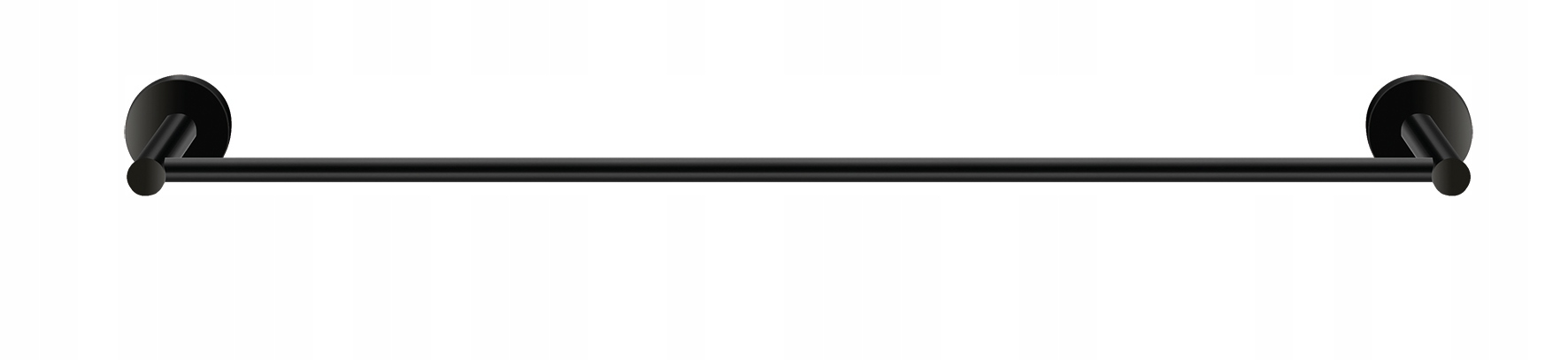 TWIST matné čierne jednoduché zábradlie