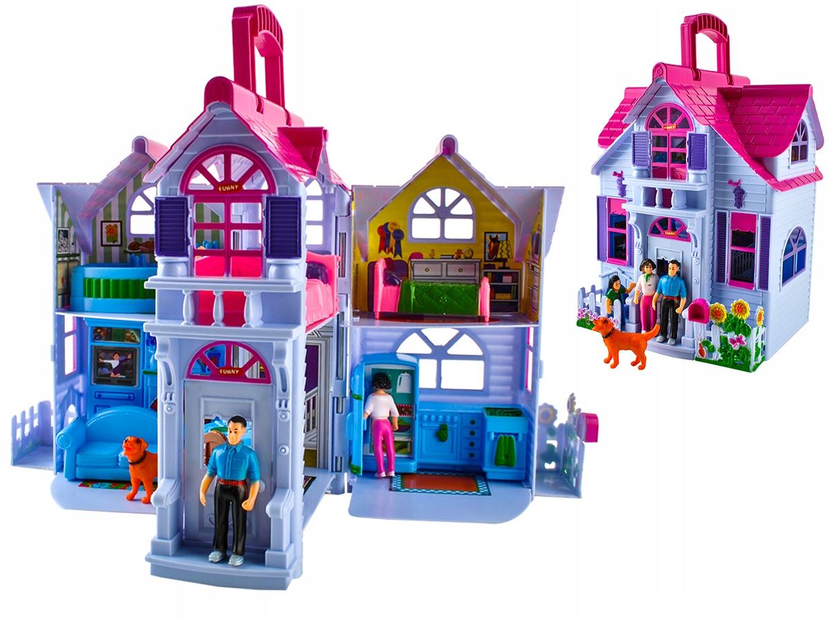 Nábytok pre bábiky Willa pre skladacie bábiky