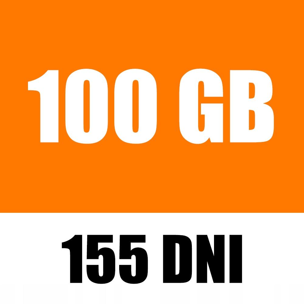 Item ORANGE FREE 100GB INTERNET CARD MOBILE LTE
