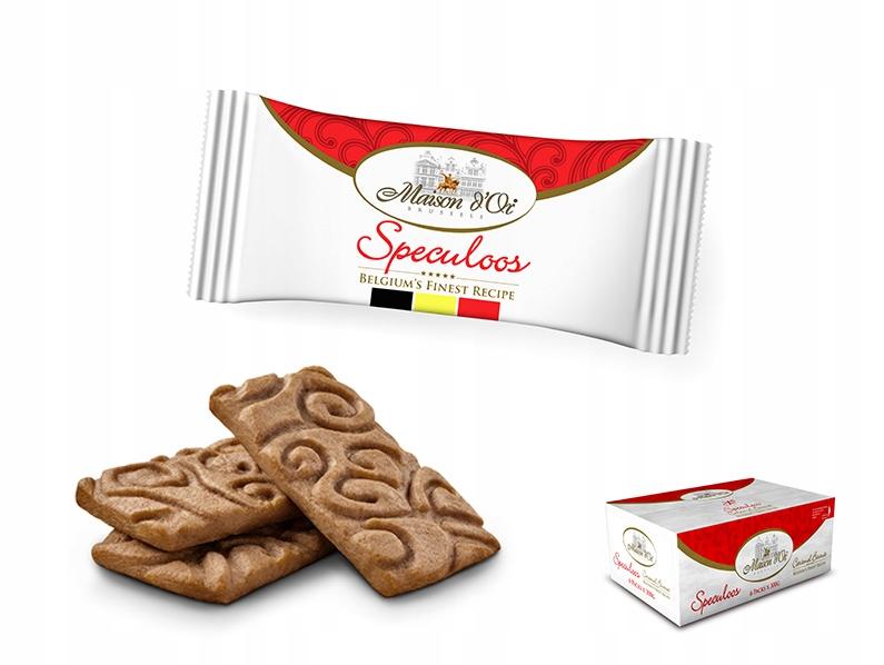 Купить Бельгийские пирожные с карамелью Speculoos x 300 шт на Otpravka - цены и фото - доставка из Польши и стран Европы в Украину.