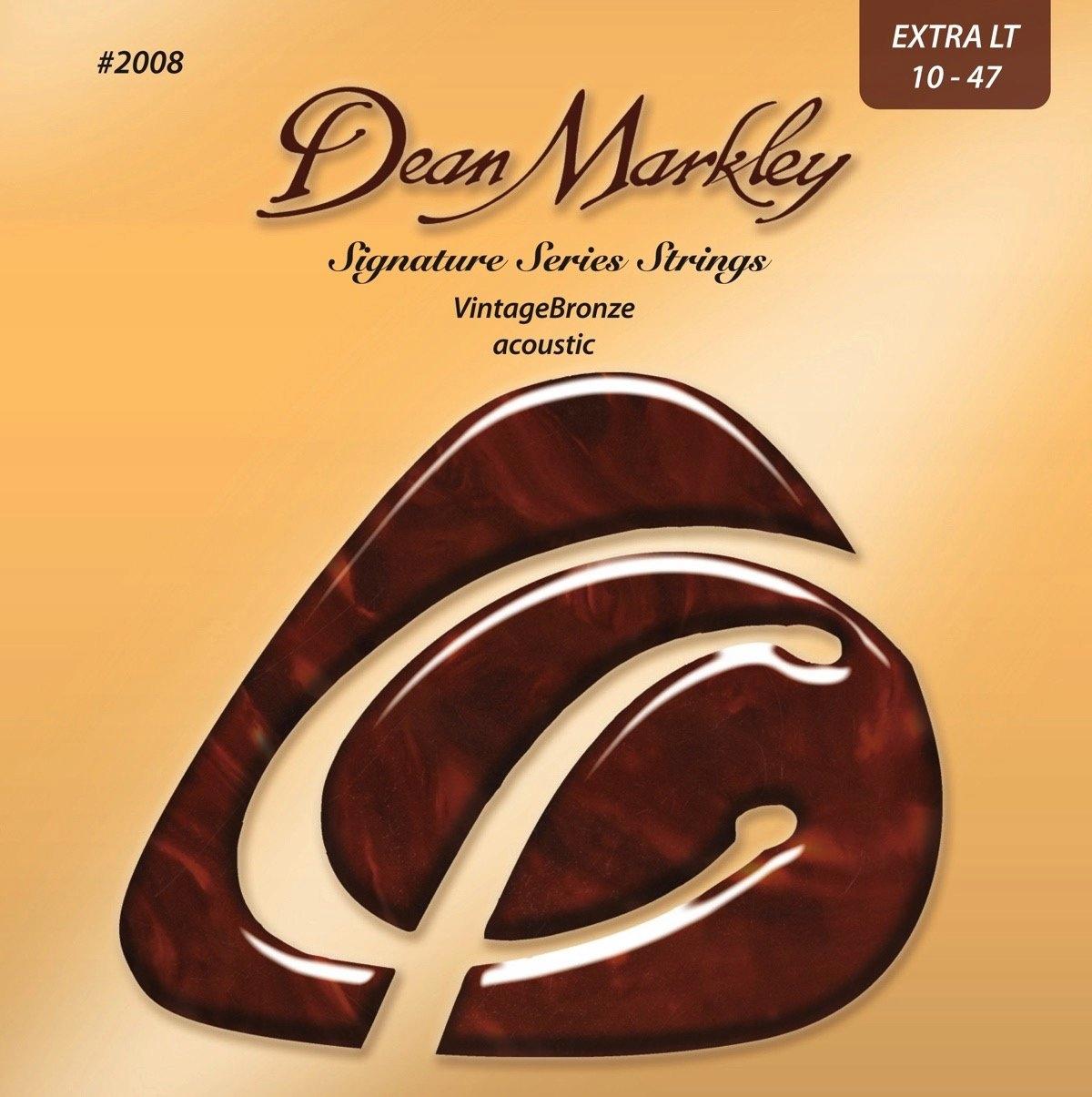 DM Dean Markley 2008 Ročník Bronz 10-47
