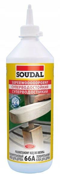SOUDAL Klej do drewna D4 poliuretanowy 66A 250ml