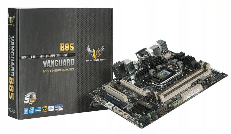 ASUS VANGUARD B85 s1150 BOX 12m-cy гарантии МАГАЗИН