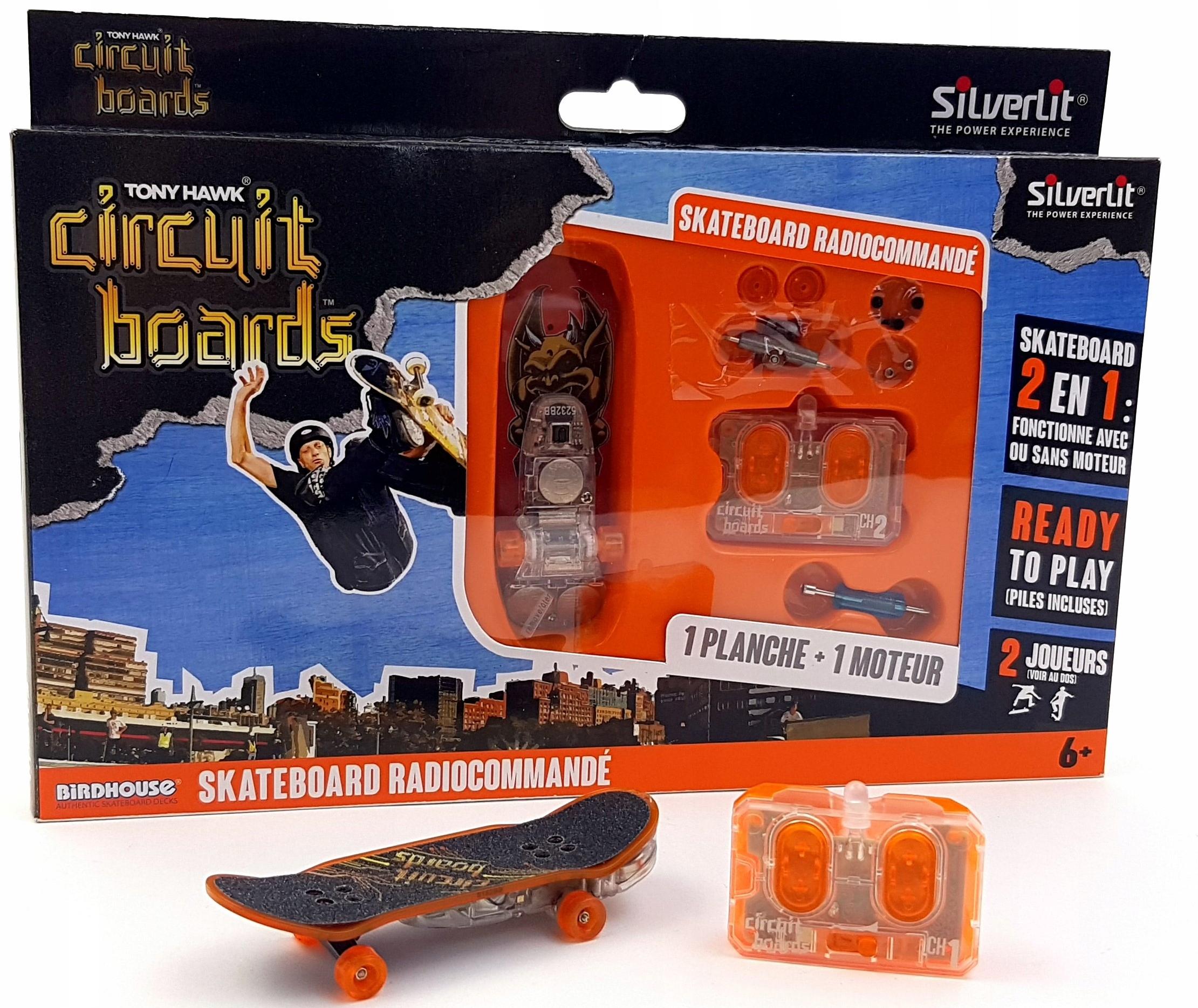 Fingerboard Skateboard diaľkovo ovládaný - SET