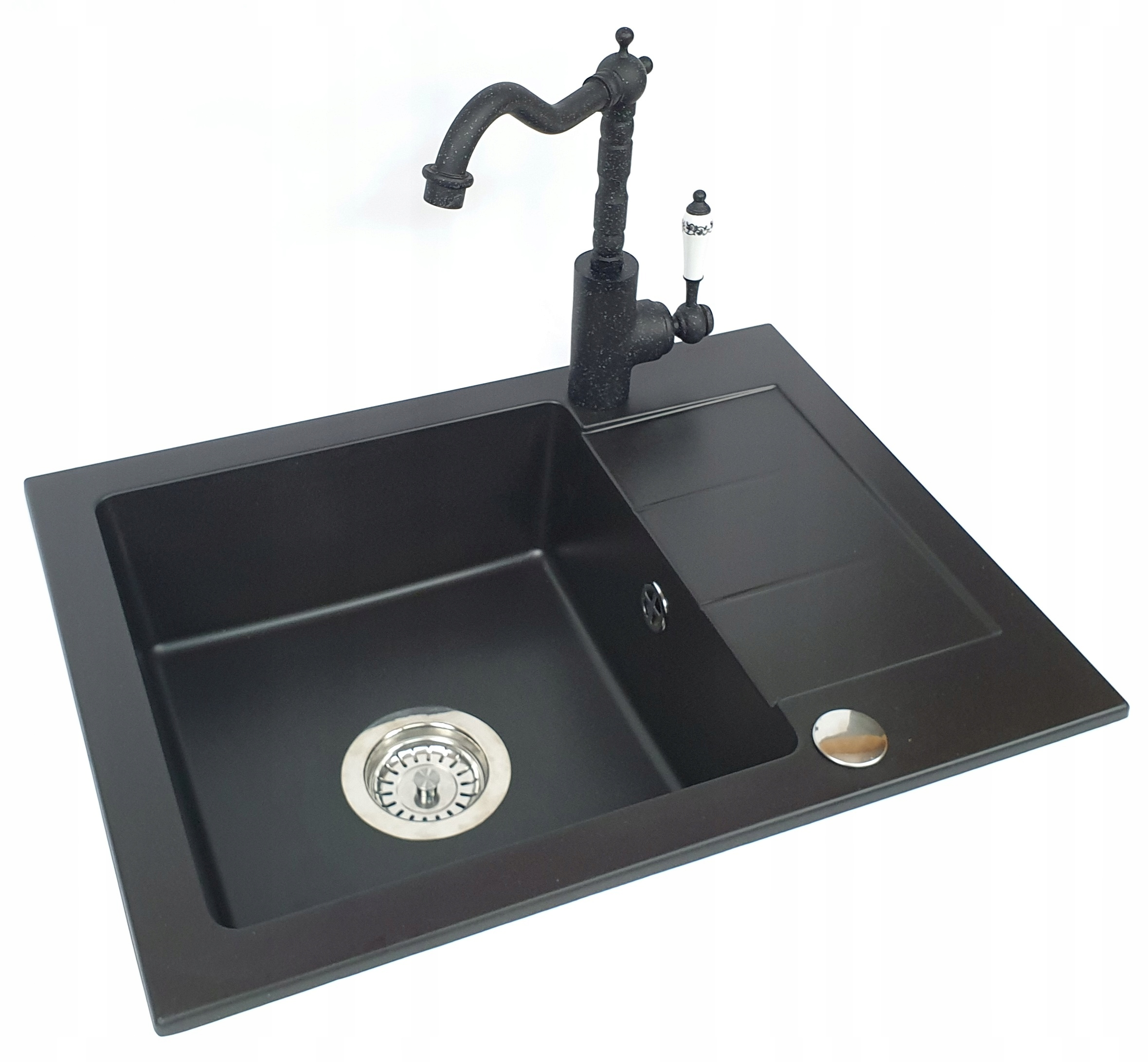 1KOMOROVÝ RETRO mixér GRANITE SINK