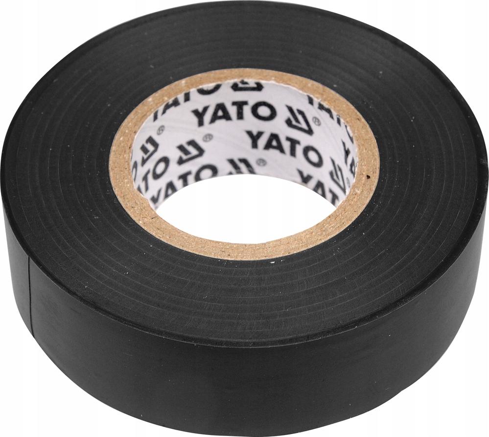 YATO YT-8159 ЛЕНТА ИЗОЛЯЦИОННАЯ ЧЕРНАЯ 15MMX20M