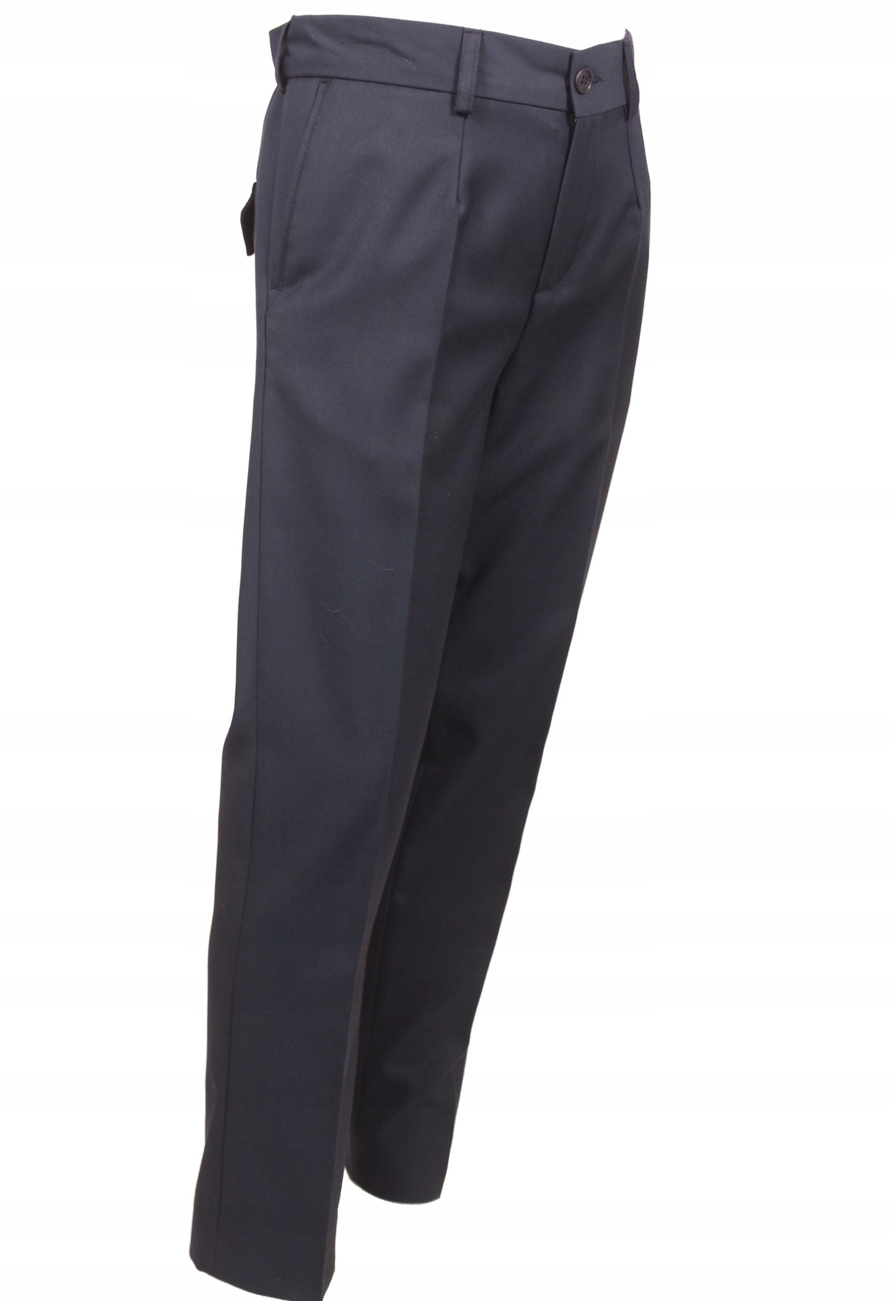 Nohavice garniturowe SOMIR kobaltu veľkosť.128 XL