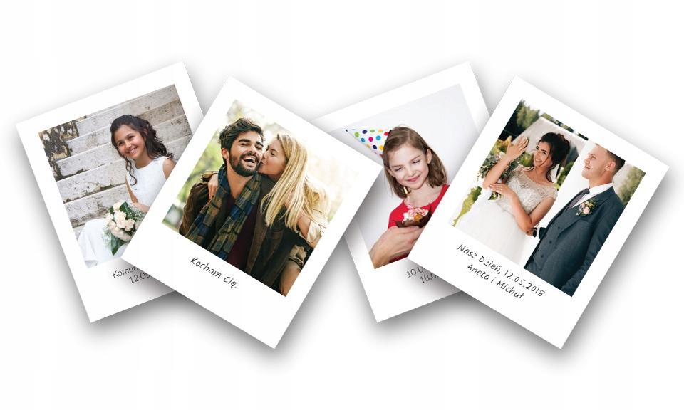 Фото-магнит с фотографией на холодильник Polaroid 16 штук