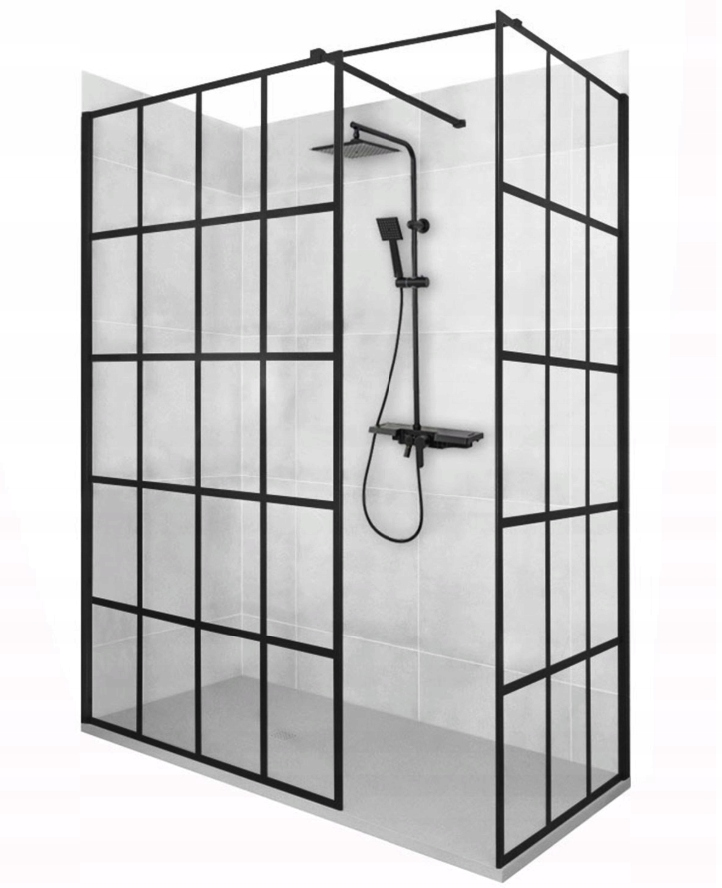 Sprchová kabína Walk In Bler-1 90x90