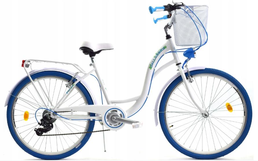 Dievčenský bicykel 26 rýchlostí Dallas pre prijímanie Materiál rámu oceľ