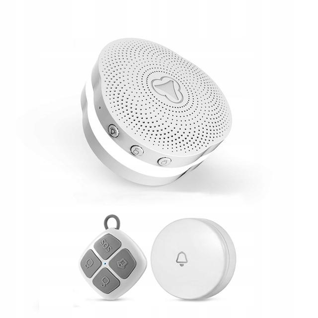 Syrena zestaw alarmowy LED WiFi+RF TUYA